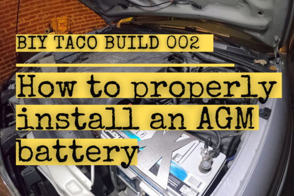 how to install amg battery
